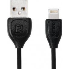 Καλώδιο Remax Regular USB 2.0 to Lightning Μαύρο 1m (Lesu)