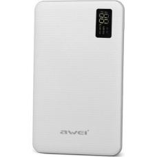 Awei P56K Powerbank 30000mAh (White)