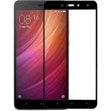 Full Face Tempered Glass Black (Redmi Note 4/Note 4X)