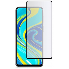 Xiaomi Redmi Note 9 Full Glue Tempered Glass Black 9H