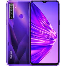 Realme 5 4GB RAM 128GB ROM (Crystal Purple) 5000mAh EU + Δώρο Φορτιστής Αυτοκινήτου