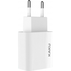 Kakusiga USB Wall Adapter Λευκό (KSC-312)
