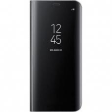 Clear View Book Μαύρη για Xiaomi Mi Note 10 Pro