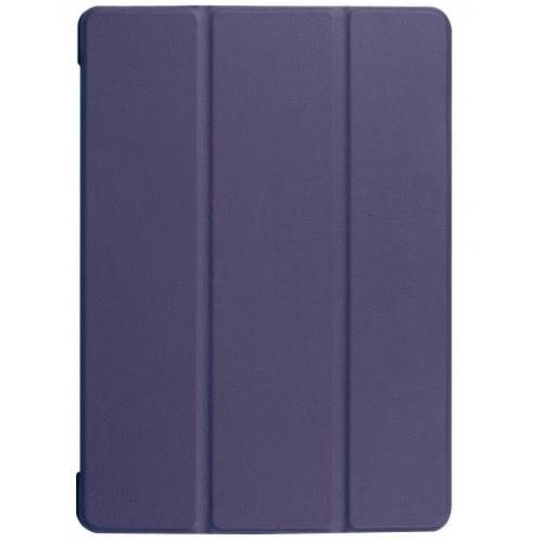 Θήκη Tri-Fold Flip Cover magnetic για Huawei MediaPad T5 10.1 Inches (Μπλέ Σκούρο)