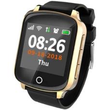 GPS Ρολόι Χειρός για Ενήλικες D200 - Βηματομετρητής - WATERPROOF IP68 (GOLD)
