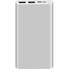 Xiaomi Mi 18W Fast Charge PowerBank 3 10000mAh (Ασημί)