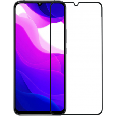 Xiaomi MI 10 Lite Full Glue Tempered Glass Black 9H