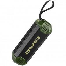 AWEI Y280 Portable Outdoor Wireless Bluetooth Speaker (GREEN)