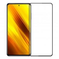 Xiaomi Poco X3 Full Glue Tempered Glass Black 9H
