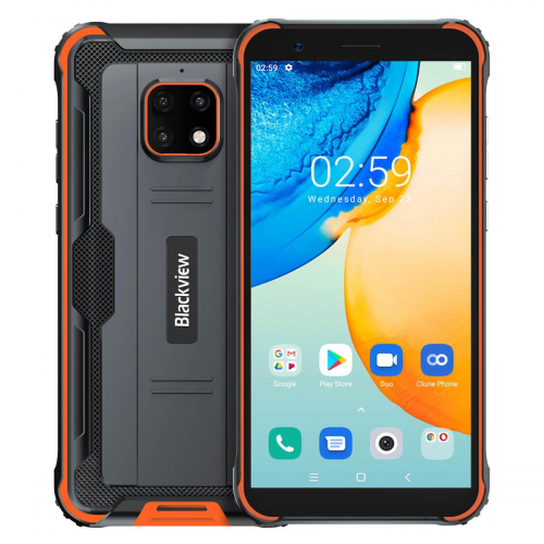 Blackview BV4900 PRO 4GB RAM 64GB ROM (ORANGE) 5580mAh