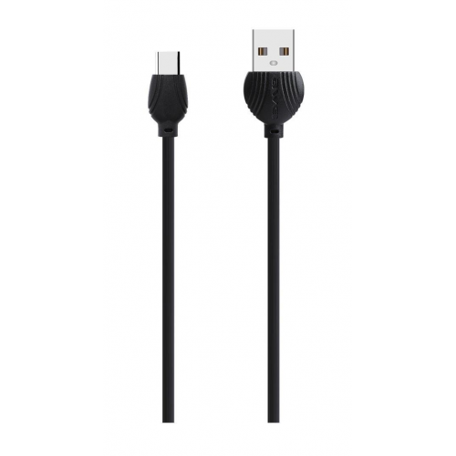 Awei USB to Type C Μαύρο 1.0m (CL-62)