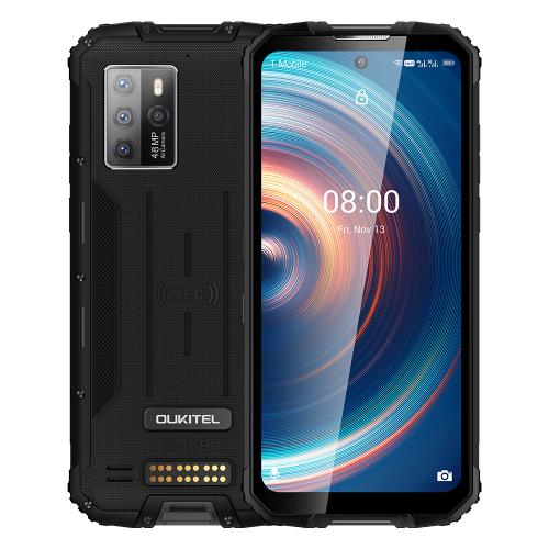 Oukitel WP10 8GB RAM 128GB ROM (BLACK) 8000mAh 5G + Δώρο Θηκη Προστασίας
