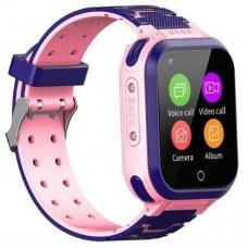 GPS Παιδικό Ρολόι Χειρός S48 4G-LTE  SOS - Βηματομετρητής IP67 (PINK)