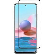 Xiaomi Redmi Note 10/10s Full Glue Tempered Glass Black 9H