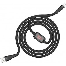 Καλώδιο Hoco Flat USB 2.0 σε Type-C Μαύρο 1.2m (S4)