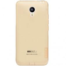 Meizu MX5 Θήκη Σιλικόνης NILLKIN (Καφέ)