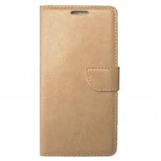 Θήκη Flip(Χρυσή) για Xiaomi Redmi Note 4