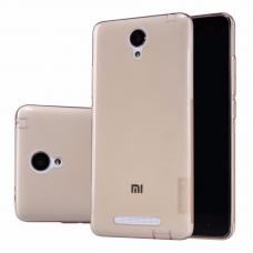 Xiaomi Redmi Note 2 Θήκη Σιλικόνης NILLKIN(Καφέ)