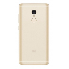 Xiaomi Redmi Note 4 Έκδοση MediaTek Μεταλλικό Καπάκι Μπαταρίας (GOLD) + Δώρο SIM Tray