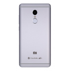 Xiaomi Redmi Note 4 Έκδοση MediaTek Μεταλλικό Καπάκι Μπαταρίας (SILVER) + Δώρο SIM Tray