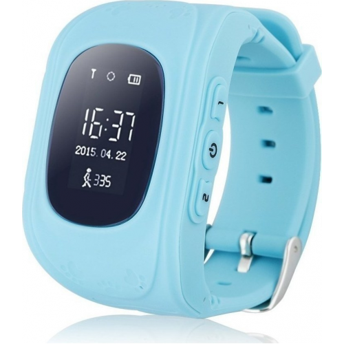 GPS Παιδικό Ρολόι Χειρός Q50 SOS - Βηματομετρητής (BLUE)