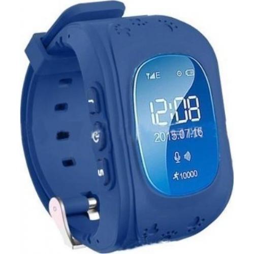 GPS Παιδικό Ρολόι Χειρός Q50 SOS - Βηματομετρητής (DARK BLUE)