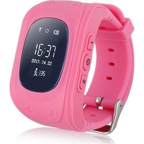 GPS Παιδικό Ρολόι Χειρός Q50 SOS  (PINK)