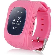 GPS Παιδικό Ρολόι Χειρός Q50 SOS - Βηματομετρητής (PINK)