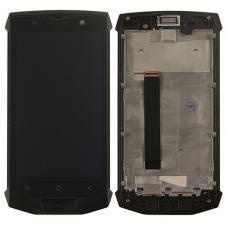 Οθόνη & Touch Panel & Frame Blackview BV8000 Pro (BLACK)