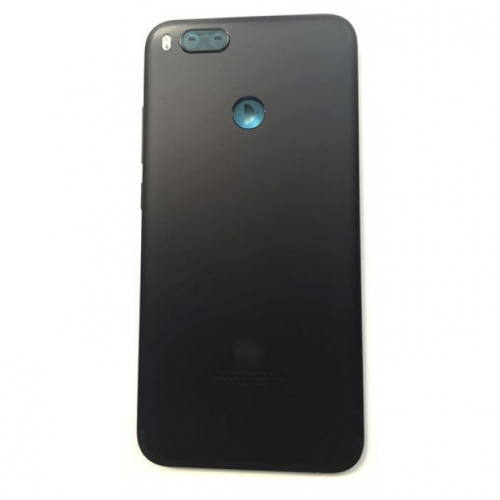 Xiaomi Mi A1 Μεταλλικό Καπάκι Μπαταρίας (BLACK) + Δώρο SIM Tray