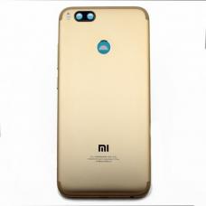 Xiaomi Mi A1 Μεταλλικό Καπάκι Μπαταρίας (GOLD) + Δώρο SIM Tray
