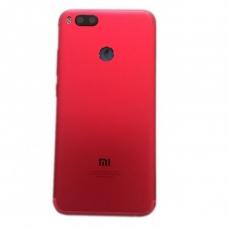 Xiaomi Mi A1 Μεταλλικό Καπάκι Μπαταρίας (RED) + Δώρο SIM Tray