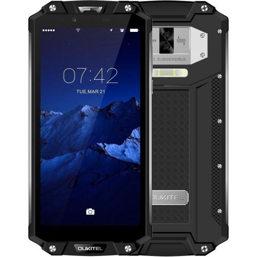 Oukitel WP2 4GB RAM 64GB ROM (BLACK) 10000mAh + Φορτιστής αυτοκινήτου