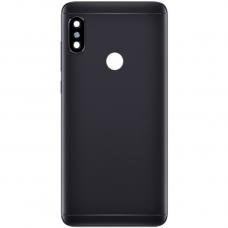 Xiaomi Redmi Note 5 Μεταλλικό Καπάκι Μπαταρίας(Μαύρο) + Δώρο SIM Tray