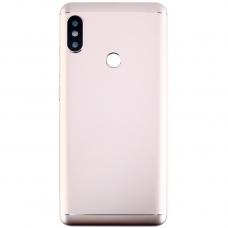 Xiaomi Redmi Note 5 Μεταλλικό Καπάκι Μπαταρίας (GOLD) + Δώρο SIM Tray