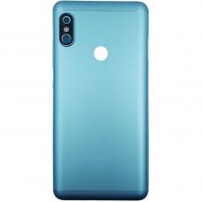 Xiaomi Redmi Note 5 Μεταλλικό Καπάκι Μπαταρίας (BLUE) + Δώρο SIM Tray