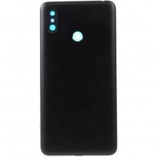 Xiaomi Mi Max 3 Μεταλλικό Καπάκι Μπαταρίας(Μαύρο) + Δώρο SIM Tray