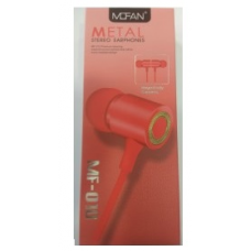 Ακουστικά Handsfree Mofan MF-010 (RED)