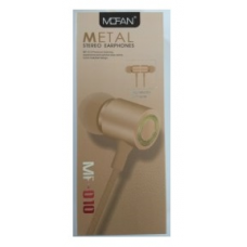 Ακουστικά Handsfree Mofan MF-010 (GOLD)