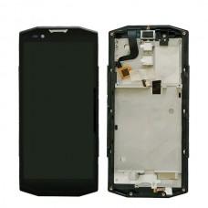 Οθόνη & Touch Panel & Frame Blackview BV9000 / BV9000 Pro (SILVER)