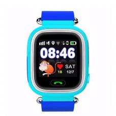 GPS Παιδικό Ρολόι Χειρός Q90 SOS - Βηματομετρητής (BLUE)