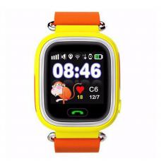 GPS Παιδικό Ρολόι Χειρός Q90 SOS - Βηματομετρητής (ORANGE)