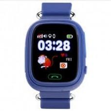 GPS Παιδικό Ρολόι Χειρός Q90 SOS - Βηματομετρητής (DARK BLUE)