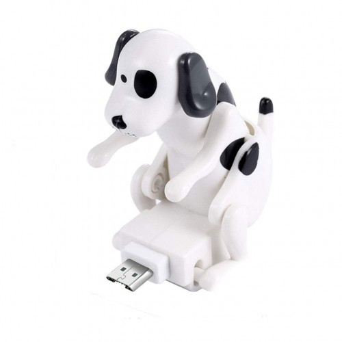 Micro-USB Καλώδιο Φόρτισης Humping Dog WHITE 1,2m