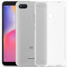 Xiaomi Redmi 6 Θήκη Σιλικόνης Διάφανη