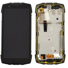 Οθόνη & Touch Panel & Frame Blackview BV6800 Pro (BLACK)