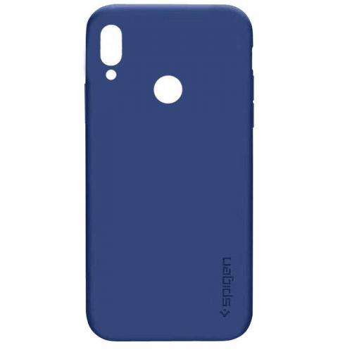 Θήκη Σιλικόνης TPU Ματ SPIGEN για Xiaomi Redmi Note 7 - Σκούρο Μπλε