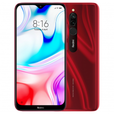 Xiaomi Redmi 8 4GB RAM 64GB ROM (RED) 5000mAh Global Version EU