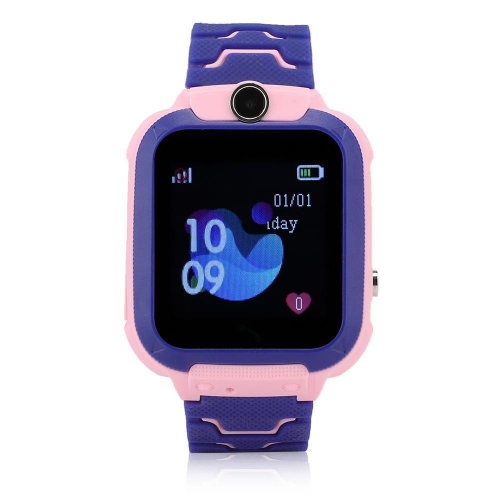 GPS Παιδικό Ρολόι Χειρός Q12B SOS - Βηματομετρητής SPLASHPROOF (PINK)