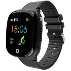 GPS Παιδικό Ρολόι Χειρός HW11 SOS - Βηματομετρητής - WATERPROOF IP67 (BLACK)